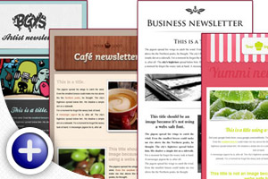 User-friendly newsletters
